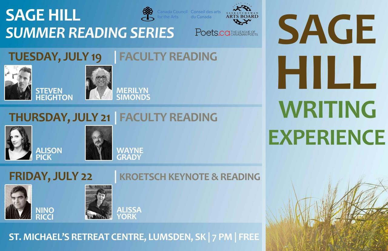 16-07-22 Sage Hill Summer Reading